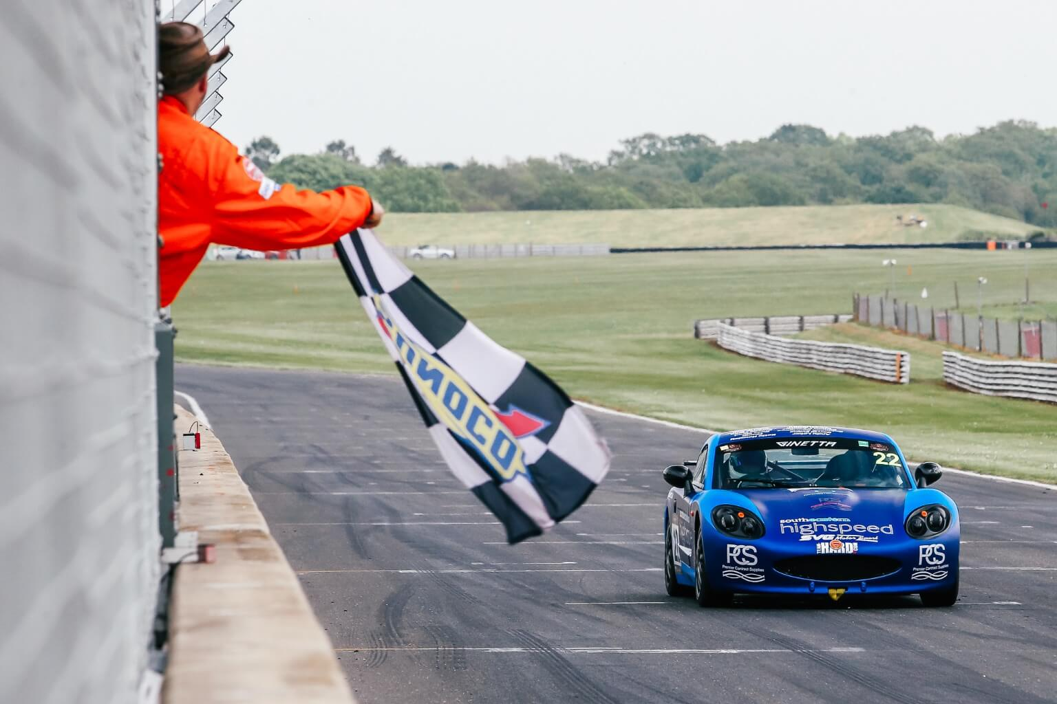 Toby makes his Ginetta debut at Snetterton